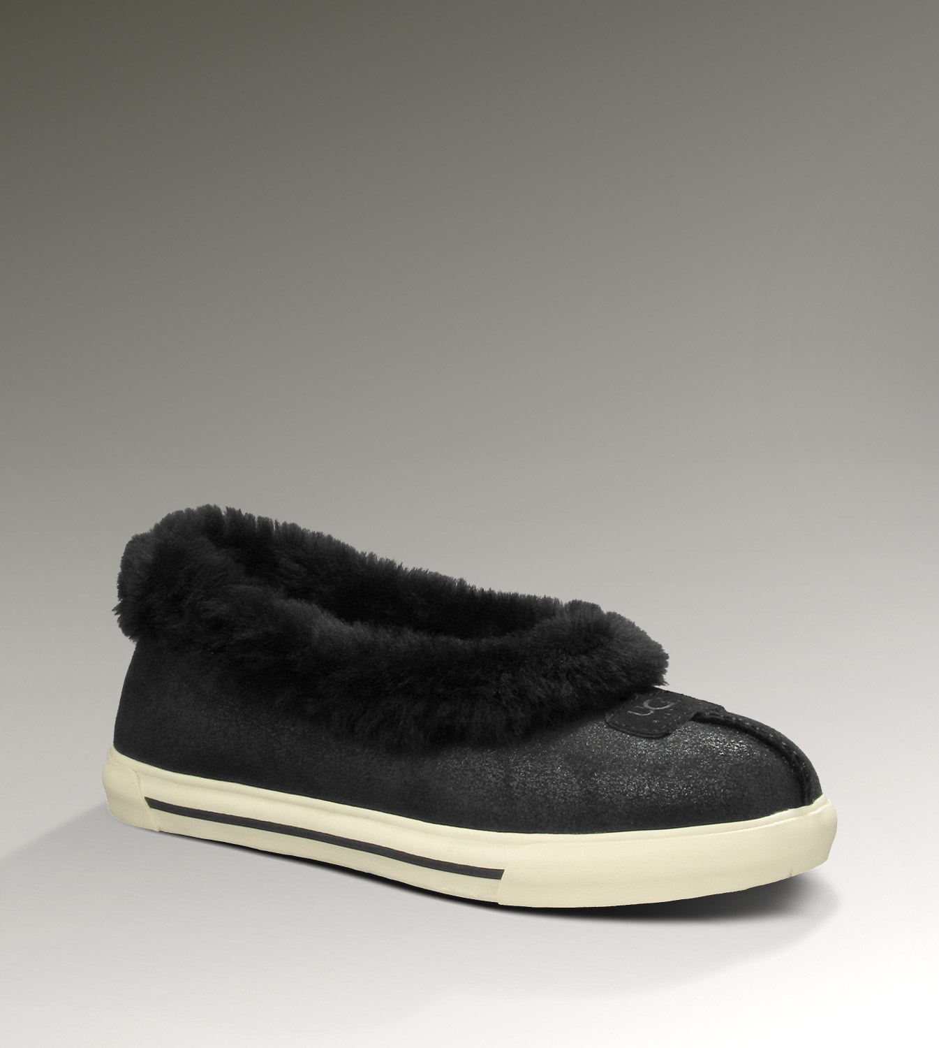 UGG Rylan Bomber 3048 Jacket Black Slippers